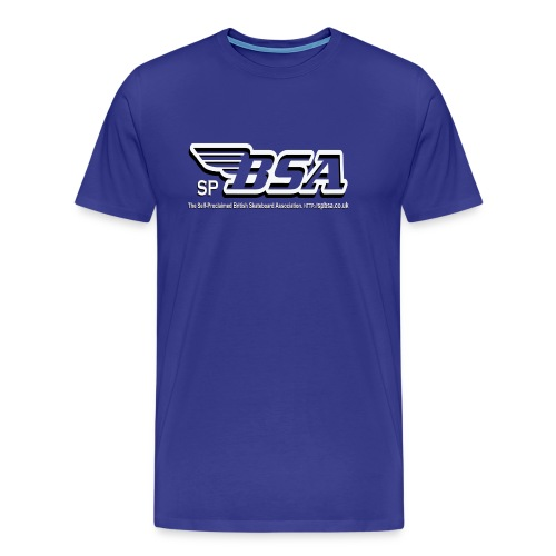 British Skateboard Association T-Shirt - Men's Premium T-Shirt
