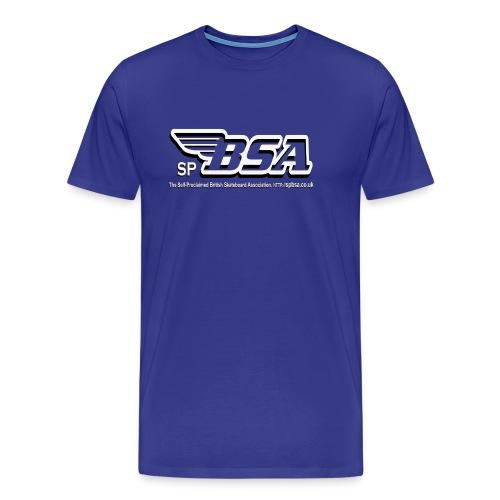 British Skateboard Association T-Shirt - Men's Premium T-Shirt