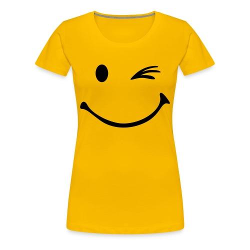 Smiley - Premium T-skjorte for kvinner
