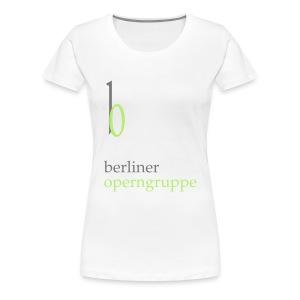 Damen Premium T-Shirt Berliner Operngruppe - Frauen Premium T-Shirt