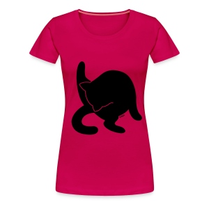 Black Kitty - Women's Premium T-Shirt