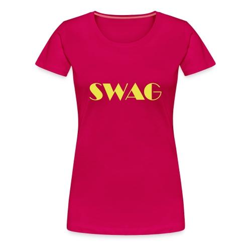 Swag T-shirt - Vrouwen Premium T-shirt