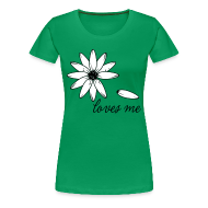 T-Shirts ~ Women's Premium T-Shirt ~ Loves me, loves me not T-shirts