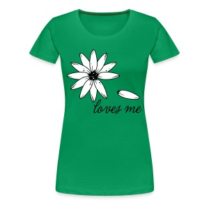 Loves me, loves me not T-shirts - Women's Premium T-Shirt
