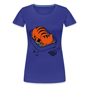 Litter Box Slumber - Women's Premium T-Shirt