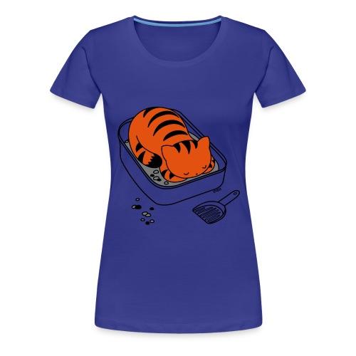 Litter Box Slumber - Women's Premium T-Shirt