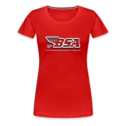 British Skateboard Association Girls T-Shirt - Women's Premium T-Shirt