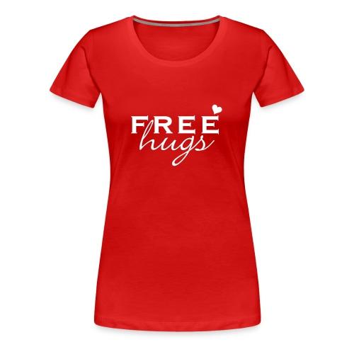 Free Hugs (for you) - Frauen Premium T-Shirt
