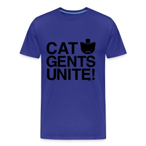 Cat Gents Unite! - Men's Premium T-Shirt