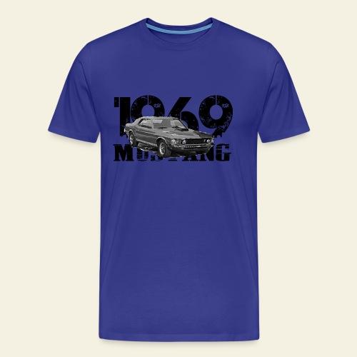 1969 M ustang HT  - Herre premium T-shirt