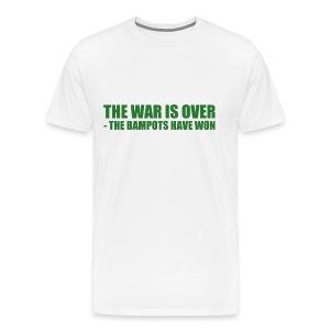 The War Is Over - Men's Premium T-Shirt
