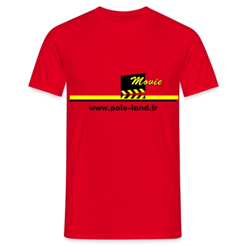 Movie - rouge - T-shirt Homme
