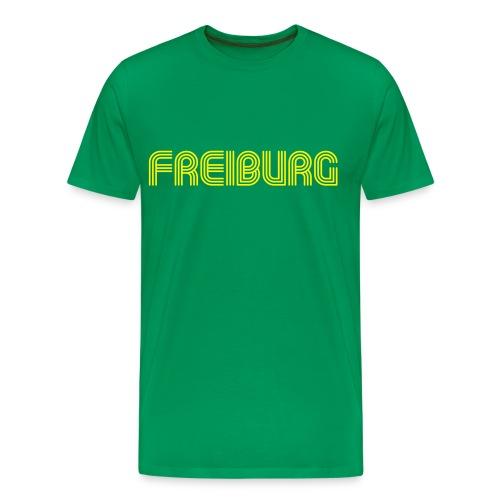 Freiburg 70er Schrift T-Shirt - Männer Premium T-Shirt
