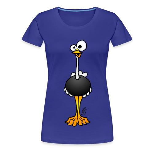 Ostrich - Women's Premium T-Shirt
