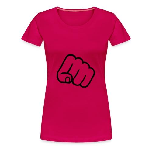 T-shirt femme un poing c'est tout! - T-shirt Premium Femme