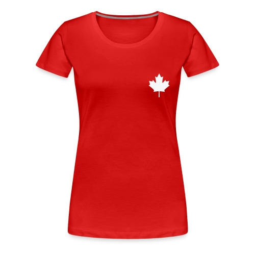 Canada in my heart - Frauen Premium T-Shirt