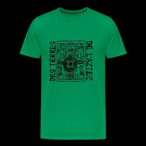 Des Terres De L'Aztec (black) - Männer Premium T-Shirt