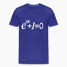 e i pi equation T-Shirts