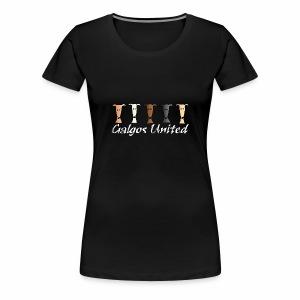 Galgos United - Frauen Premium T-Shirt
