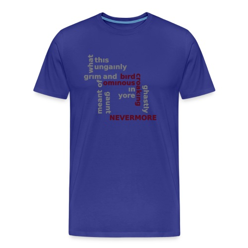 Poe - Premium-T-shirt herr