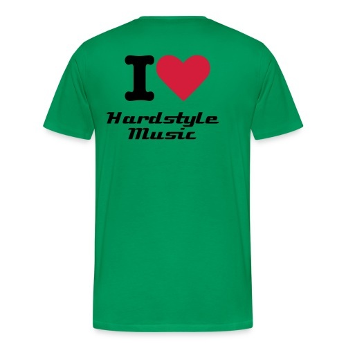 Hardstyle Basic T-Shirt (Men) - Männer Premium T-Shirt