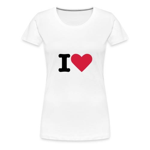 ILOVE SHIRT - Frauen Premium T-Shirt