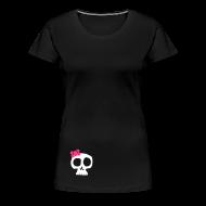 T-Shirts ~ Frauen Premium T-Shirt ~ Schädelchen - Girly