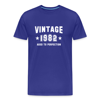 VINTAGE 1982 T-Shirt - Aged To Perfection WB