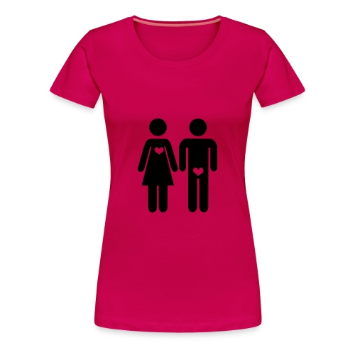 Love Location - Vrouwen Premium T-shirt