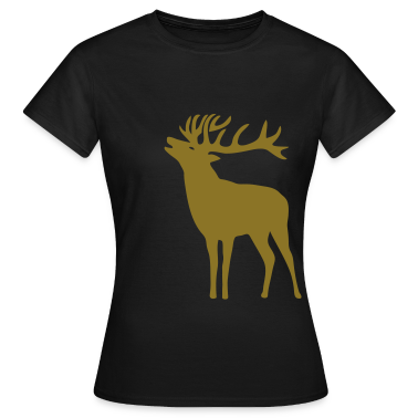 wild stag deer moose elk antler antlers horn horns cervine hart bachelor party night hunter hunting T-Shirts
