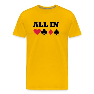 ALL IN - Camiseta premium hombre