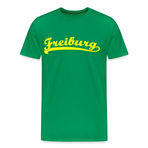 Freiburg Retro Schrift T-Shirt - Männer Premium T-Shirt
