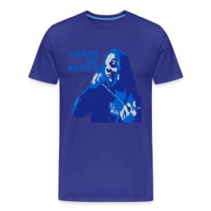 Loads of Bands - Colin Grigson Bad News T-Shirt - Men's Premium T-Shirt