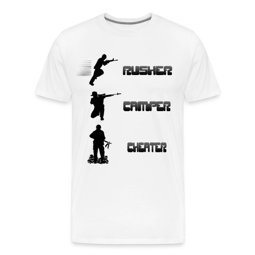 Rusher Camper Cheater Shirt - Männer Premium T-Shirt