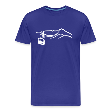 Funicular railway Mountain T -shirt  T-Shirts