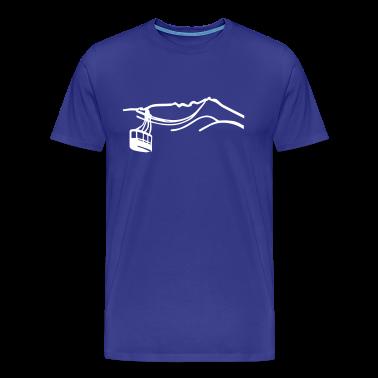 Funicular railway Mountain T -shirt  T-Shirts