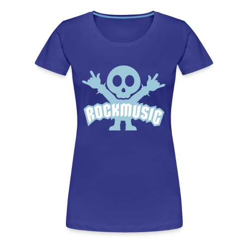 Rockmusic femenina - Camiseta premium mujer