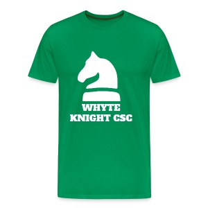Whyte Knight CSC - Men's Premium T-Shirt