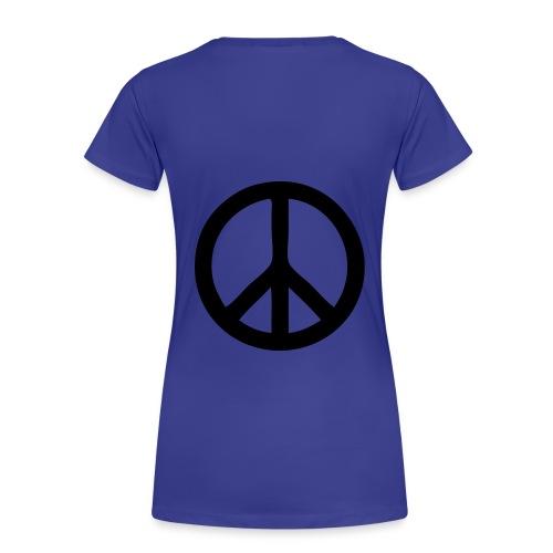 Camiseta I Love Peace - Camiseta premium mujer
