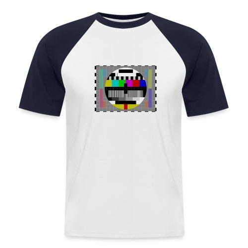 testbeeld - Mannen baseballshirt korte mouw