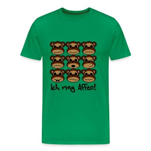 Ich mag Affen! - Männer Premium T-Shirt