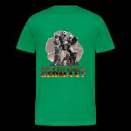 T-Shirts ~ Männer Premium T-Shirt ~ Logo Hinten