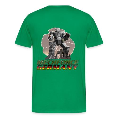 Logo Hinten - Männer Premium T-Shirt