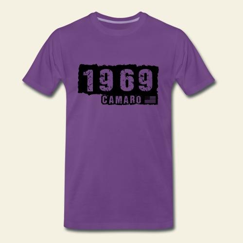 1969 Camaro T-shirt  - Herre premium T-shirt