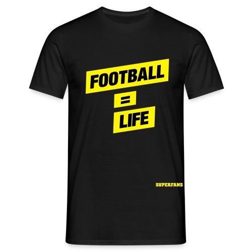 Football = Life - Men's T-Shirt - Men's T-Shirt
