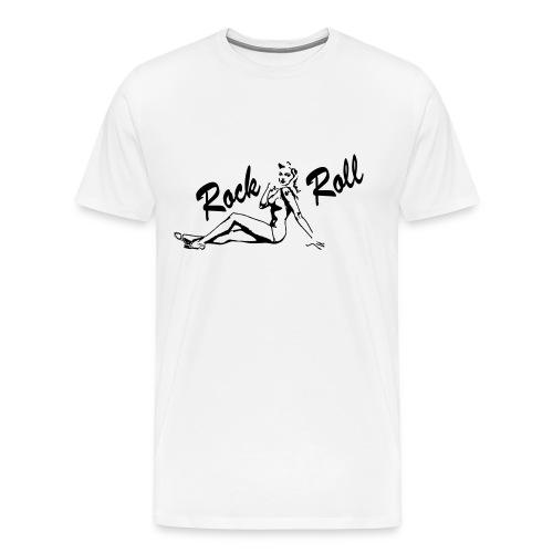 Lucky Aces - Rock 'n' Roll Pin Up - Männer Premium T-Shirt