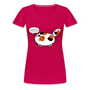 Puffy Calico - Women's Premium T-Shirt
