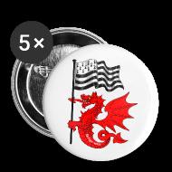 Badges ~ Badge petit 25 mm ~ Badge Gwen ha du