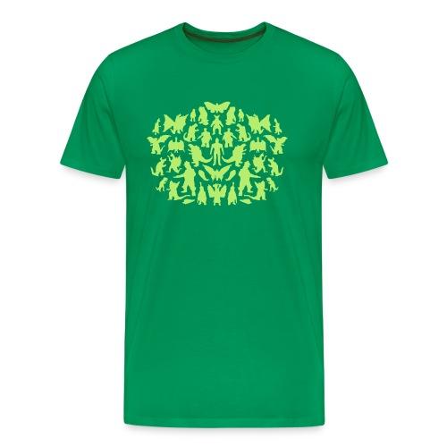 Green Monsters - Männer Premium T-Shirt