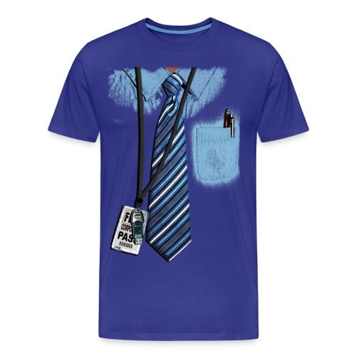 Businessman - Männer Premium T-Shirt